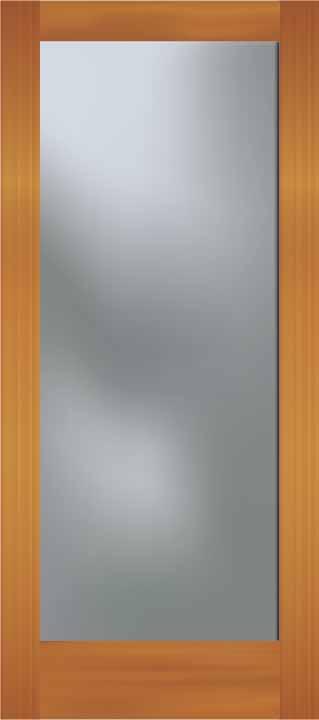 フラットドア ガラスオプション
