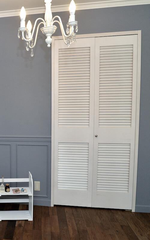 折戸ドアの施工事例