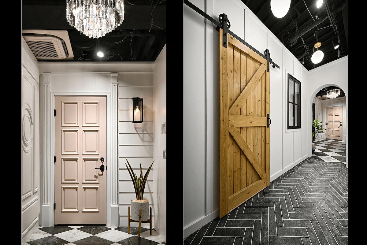 大阪SHOWROOMのドア
